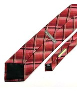 New KENNETH COLE REACTION Men's Tie Burgundy, Black, Brown Fine Silk Nec... - $13.95