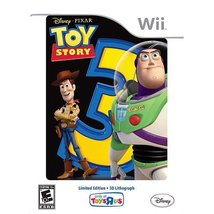Toy Story 3 Limited Edition Game w/ 3D Lithograph [Nintendo Wii] - $25.49