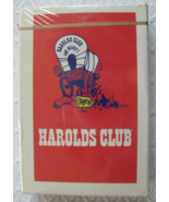 """Sealed Deck of Playing Cards from: """"Harolds Club"""" of Reno - (sku#4947-1) - $14.99"""
