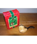 Vintage Hallmark Keepsake 1985 SANTA'S PIPE Christmas Tree Ornament in B... - $27.83