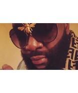 Big Bee Pilot Sunglasses Oversize Metal Frame Men Gradient Summer Shades... - $16.09+