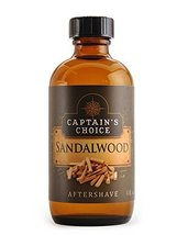 Sandalwood Aftershave 4oz after shave by Captain's Choice image 3
