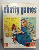 Vintage Charmin' Chatty 2 In 1 Game At The Fair + Skate 'n Slide Complete Vg! - $22.30