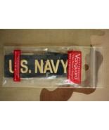 USN NAVY CPO & OFFICER NWU UNIFORM GOLD TYPE 1 BLUE SERVICE BRANCH INSIG... - $6.92
