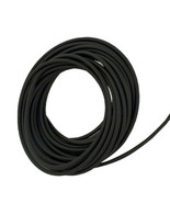"""Soft 50A Black High-Temp Silicone Rubber Inner Dia 1/2"""" Outer Dia 3/4"""" -... - $85.25"""