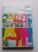 WIi Disney Sing it game manual included - $4.21