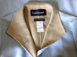 Louis Feraud Finition Main Baby Blue Blazer Jacket Made in Italy No Size Tag image 6