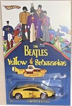 """LAMBO Murcielago CUSTOM-Made Hot Wheels The BEATLES """"YELLOW SUBMARINE"""" L... - $93.85"""
