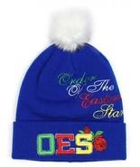 ORDER OF THE EASTERN STAR  BALL BEANIE HAT SKULL CAP OES SKULL CAP BEANIE - $19.60