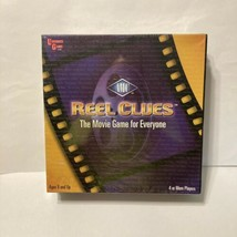 AMC Reel Clues - The Movie Game for Everyone  By University Games, New S... - $9.99
