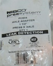 Nibco Press System PC604 Male Adapter 1 1/2 Inch Press X Male 9032000PC image 2