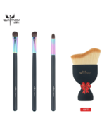 Anmor® Buy 3 Get 1 Gift Eye Shadow Makeup Brushes Set With Foundation Brush - $20.27