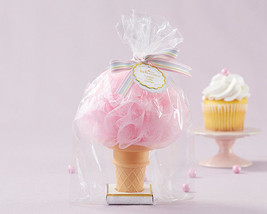 Pink Ice Cream Cone Loofah Baby Shower Birthday Sweet 15 16 Party Favor ... - $90.73+