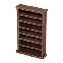 4Ground 28mm Furniture: Medium Wood Large Bookshelf