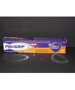 Poligrip For Partials Denture Adhesive Cream 2.1 Oz. New In Box (R) - $54.44