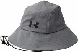 NEW! Under Armour Men's ArmourVent™ Warrior 2.0 Bucket Hat-Graphite 1307... - $59.28