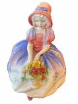 "Royal Doulton ""Monica"" Porcelain Figurine HN 1467 Vintage Girl in Bonnet... - $34.95"