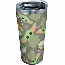 Star Wars The Mandalorian The Child Pattern 20 oz. Stainless Tervis® Tum... - $34.98
