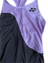 NWT NEW Purple Black Yonex Racerback Running Athletic Tank Top Women Sz S Tennis image 2