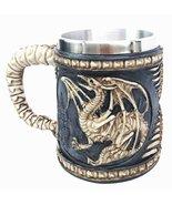 Legendary Skeletal Ossuary Ghost Winged Dragon Overlord Beer Stein Tanka... - $19.79