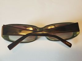 Vintage Oliver Peoples Jezebelle H Sunglasses  Brown Horn / Gold New PERFECT image 6