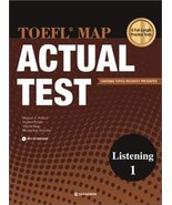 TOEFL MAP ACTUAL TEST: LISTENING. 1 (Korean edition) [Misc.] [Jan 01, 2011] - $25.00