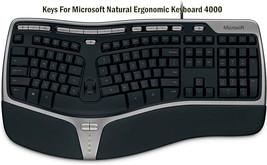 KEYS FOR Microsoft Natural Ergonomic Keyboard 4000 (KU-0462 X823051-001) - $7.99