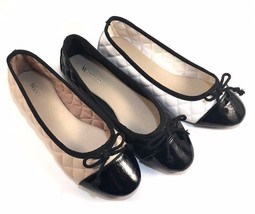 Wanted Lotus Round Toe Quilted Ballet Flats Choose Sz/Color - $30.60
