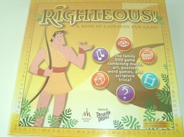 Righteous Religious Family Game A Book of Mormon DVD LDS Scripture Trivia  - $27.67