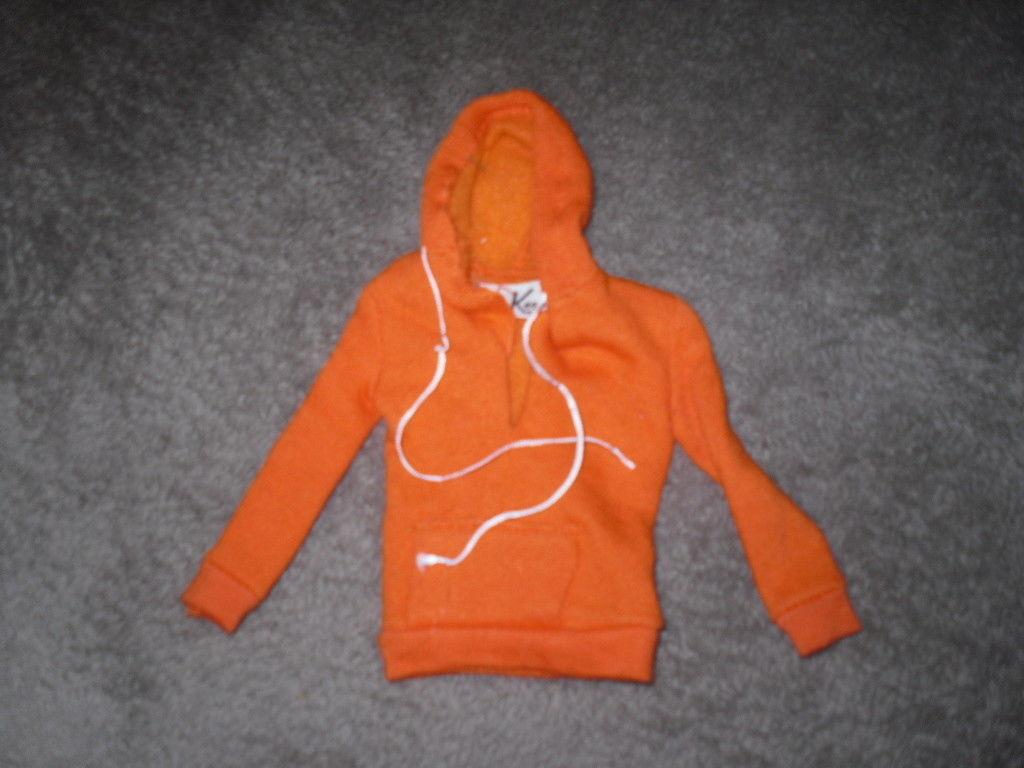 Mattel Barbie Doll Clothes - Ken Pak Orange Sweatshirt 1963 - BW Label