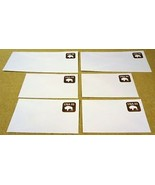 USPS Scott U608 22c Buffalo Envelopes Lot of 6 Brown - $7.99
