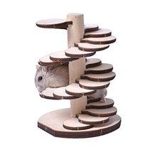Panda Legends [F] Hamster Wooden Toy Hamsters DIY Habitat Pet Supplies f... - $16.50