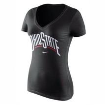 Ohio State Buckeyes Football Nike NCAA Women's L Wordmark Logo T-Shirt $26 - $26.00