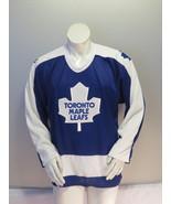 Toronto Maple Leafs Jersey (VTG) - Away Blue by CCM - Men's Large  - $75.00