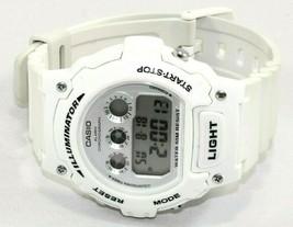 Casio Illuminator White Digital Unisex Sports Watch Chrono 50m W/R New B... - $32.69 CAD