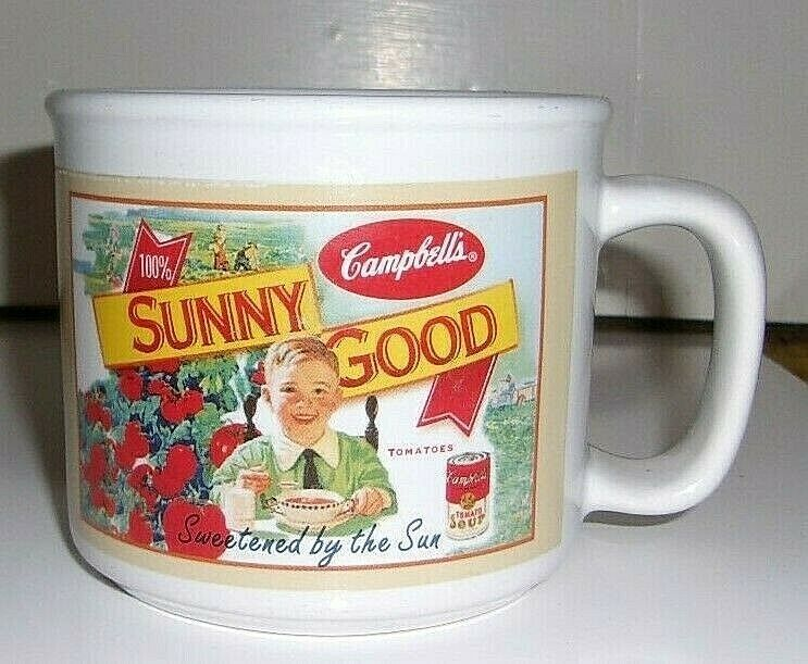 Houston Harvest Campbell's Soup Graphic Coffee Cup