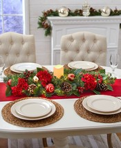 """35"""" Lighted Centerpieces ** TRADITIONAL HOLIDAY ** - $39.95"""