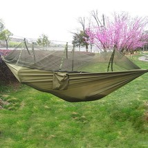 Single Person Portable Parachute Fabric(ARMY GREEN) - $22.62