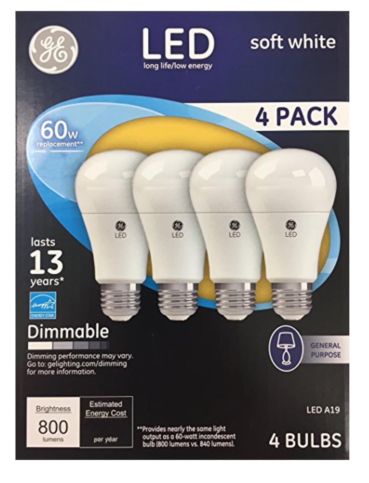 General Electric 25w 4pk Long Life Incandescent Chandelier Light Bulb White