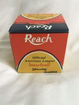 Vintage New in Box Official Cronin REACH American League Baseball No. 0 image 3