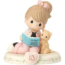 Precious Moments 162012B  Growing In Grace, Age 13, Bisque Porcelain Fig... - $58.51
