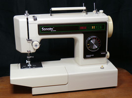 Jo-Ann Sonata Sewing Quilting Machine Very Nice Heavy Duty Portable Serv... - $148.45