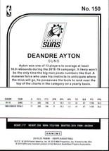 Deandre Ayton 2019-20 Panini NBA Hoops Card #150 image 2