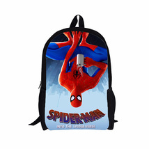 """Spider-man Into The Spider-Verse 16"""" School Book Bag Backpack - $34.64 CAD"""