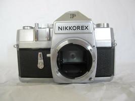 Vintage Nikon Nikkorex F Nippon Kogaku Tokyo Camera Body ONLY (Made in J... - $63.01