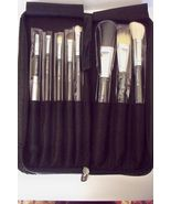 M.A.C. Professional Makeup Brush Set With Carrying Case - $120.00
