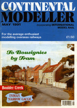 CONTINENTAL MODELLER + International Model Rail May 1991 Vol.13 No.5 Eng... - $4.09
