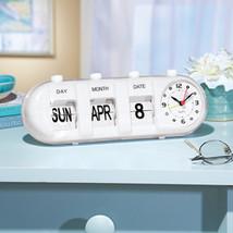 Easy Read Calendar Clock  - $19.91
