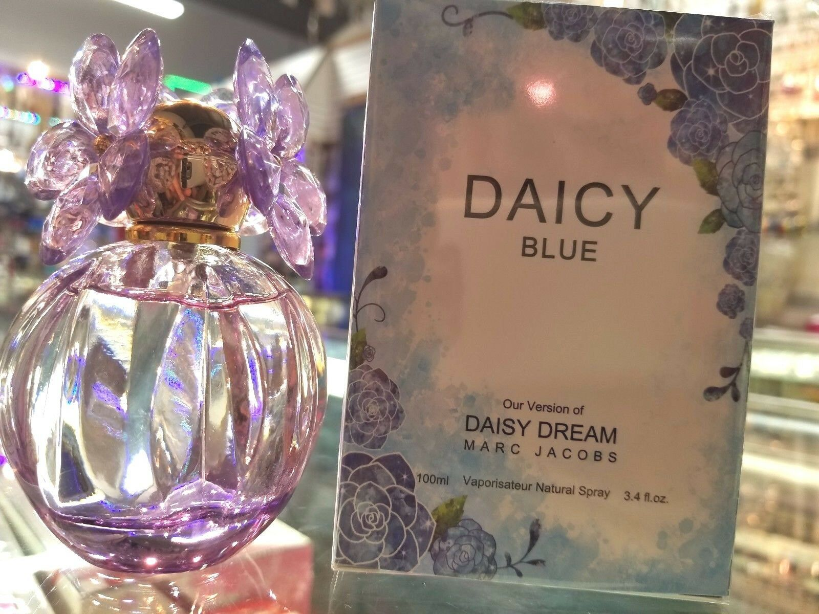 Primary image for Daicy Blue Our Version of Daisy Dream Marc Jacobs 3.4 oz Spray NEW IN SEALED BOX