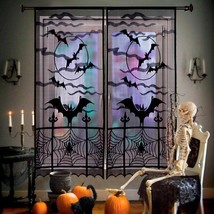 Halloween Decorations Props Spiderweb Lace Door Curtain Decoration for H... - $24.99